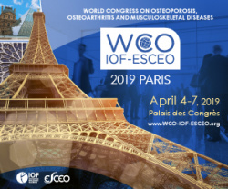 World Congress on Osteoporosis, Osteoarthritis and Musculoskeletal Diseases 2019