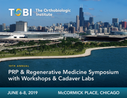 10th Annual PRP & Regenerative Medicine Symposium, Workshops & Cadaver Labs