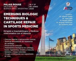 Emerging Biologic Techniques & Cartilage Repair in Sports Medicine
