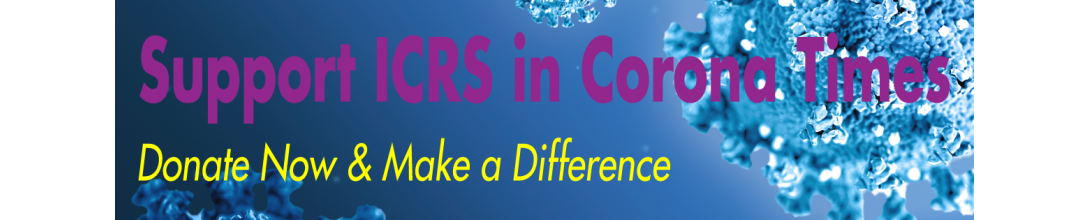 "A Huge ""THANK YOU!"" to ICRS Members, Colleagues & Friends"