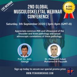2nd Global Musculoskeletal Webinar C onference