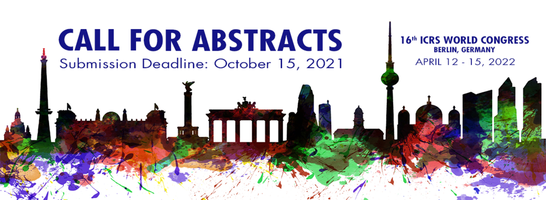 Call For Abstracts – ICRS 2022 Berlin World Congress