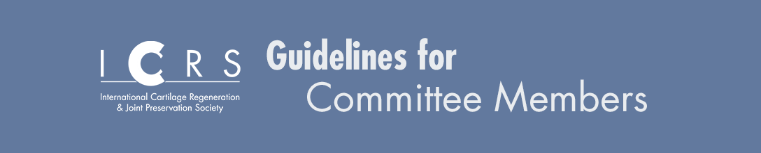 Guidelines for Committee Members